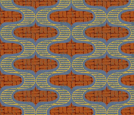 Pathways fabric by lighthearts on Spoonflower - custom fabric