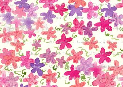 Pink Flower Shower