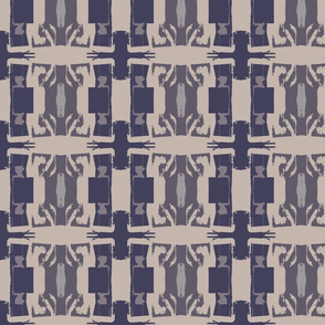 wallpaper- abstract Gray and Indigo