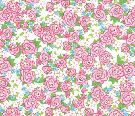 Ruffle Flower Ditzy - Pink