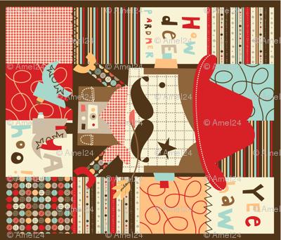 'Howdee Yul' quilt