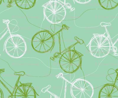 thread bikes - ice & lime