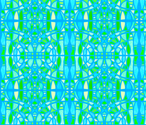 Summertime: sea and sand by Su_G fabric by su_g on Spoonflower - custom fabric