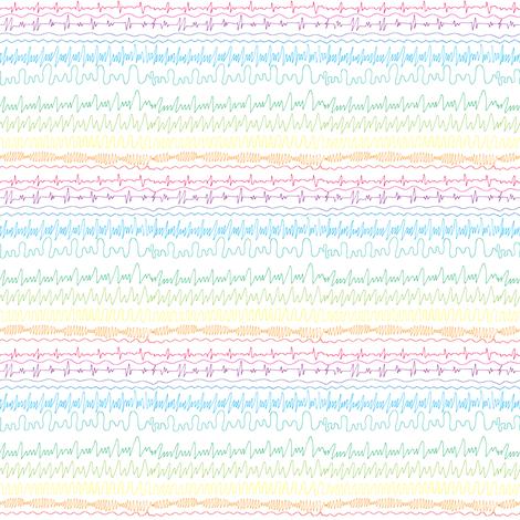 Beautiful noise fabric by studiojelien on Spoonflower - custom fabric