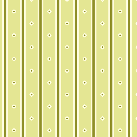 Sweet Apple Green Stripe fabric by inscribed_here on Spoonflower - custom fabric