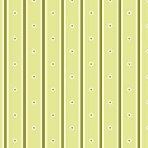 Sweet Apple Green Stripe