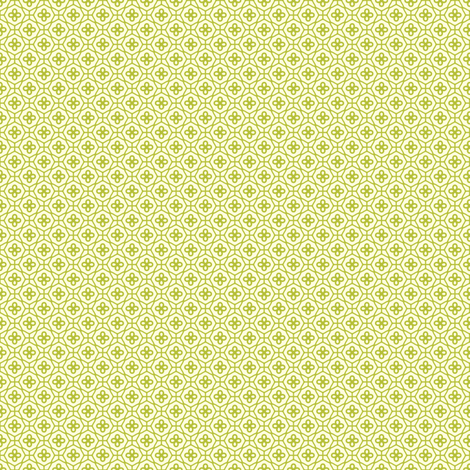 Sweet Apples and Cream Lattice fabric by inscribed_here on Spoonflower - custom fabric