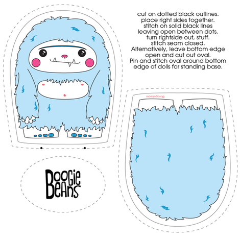 Yeti Plush fabric by kfay on Spoonflower - custom fabric