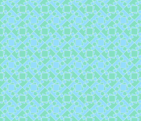 checkewed_-_sky_sparkle fabric by glimmericks on Spoonflower - custom fabric