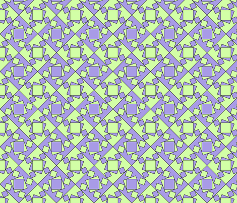checkewed_-_lilac_smash fabric by glimmericks on Spoonflower - custom fabric