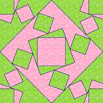 checkewed_-_watermelon_linen