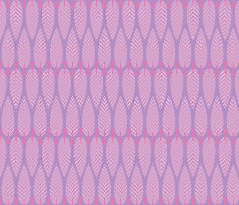 Chevron Trees - purple fabric by kayajoy on Spoonflower - custom fabric