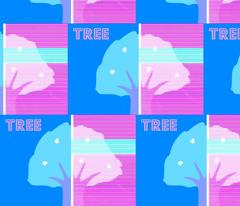 My tree fabric by _vandecraats on Spoonflower - custom fabric