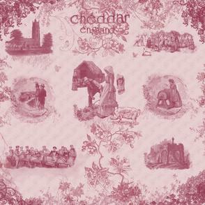 Cheddar England Toile