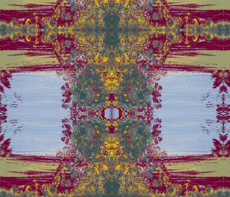 Taj Mahal fabric by myartself on Spoonflower - custom fabric