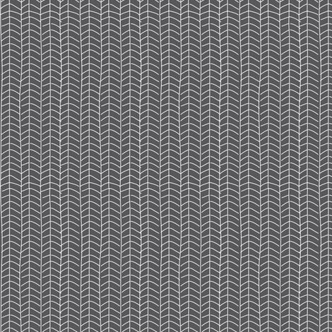 Texas Modern Herringbone Coal fabric by jacinda on Spoonflower - custom fabric