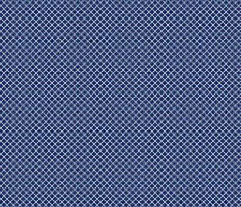 Little Blue fabric by effiedee on Spoonflower - custom fabric