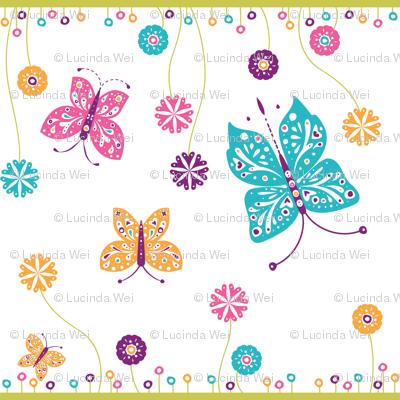 Sugar n Spice Butterflies - © Lucinda Wei