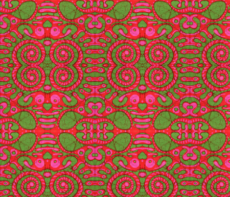 groove thing fabric by hooeybatiks on Spoonflower - custom fabric