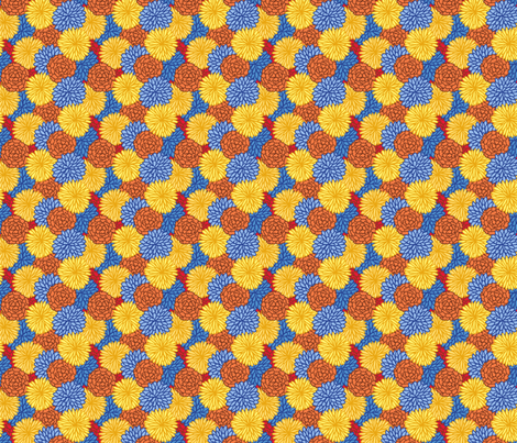 Flores fabric by hugandkiss on Spoonflower - custom fabric
