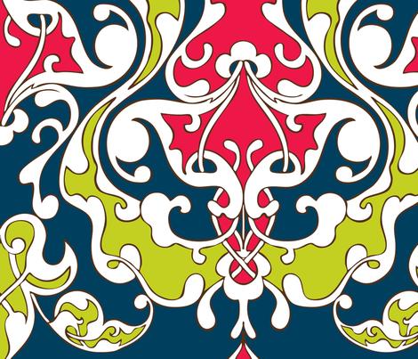 Turkish Vines : Apple fabric by hairpik on Spoonflower - custom fabric
