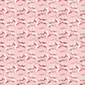 Plastic Flamingos (Pink)
