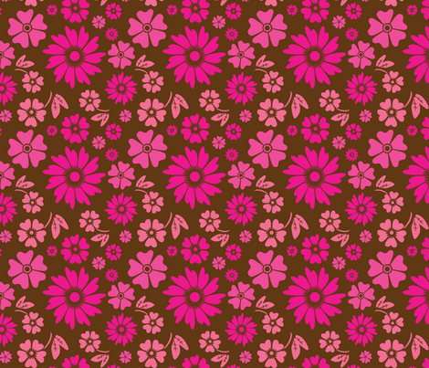 Formal Floral fabric by wastedwings on Spoonflower - custom fabric