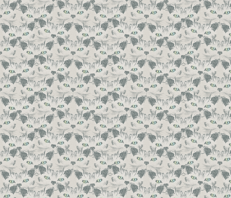 Look Into Our Eyes... fabric by glimmericks on Spoonflower - custom fabric