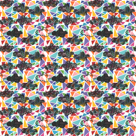 Stormy weather fabric by studiojelien on Spoonflower - custom fabric