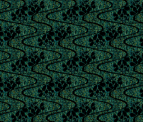 Urban Meanderings in the Shadowlands fabric by glimmericks on Spoonflower - custom fabric