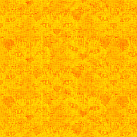 Look Into Our Eyes ... Sunshine fabric by glimmericks on Spoonflower - custom fabric