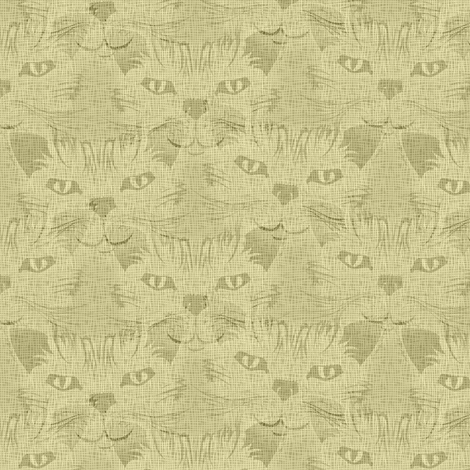 Look Into Our Eyes ... Safari fabric by glimmericks on Spoonflower - custom fabric