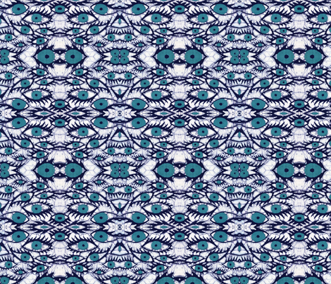 eyes, mirror repeat fabric by hooeybatiks on Spoonflower - custom fabric