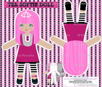 TEA -cut and sew softie doll