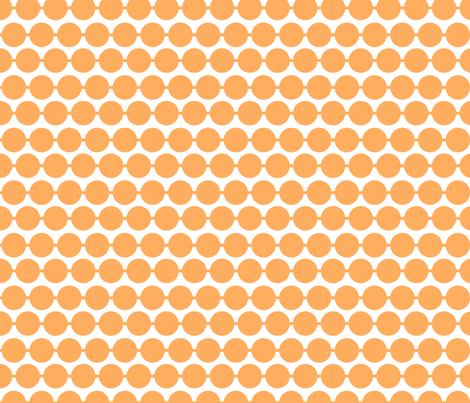 Dot_Tangerine fabric by walrus_studio on Spoonflower - custom fabric