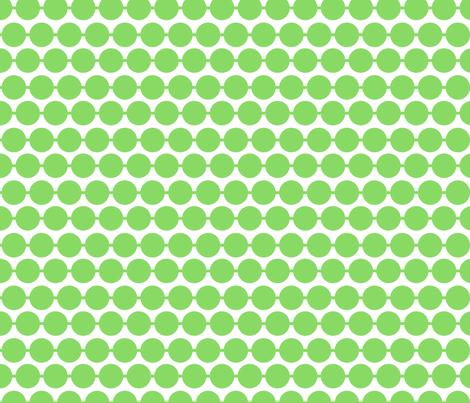 Dot_Green fabric by walrus_studio on Spoonflower - custom fabric