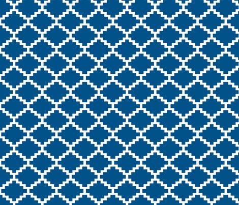 RickRack_Navy fabric by walrus_studio on Spoonflower - custom fabric