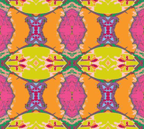 Criss Cross-Gigantica fabric by susaninparis on Spoonflower - custom fabric