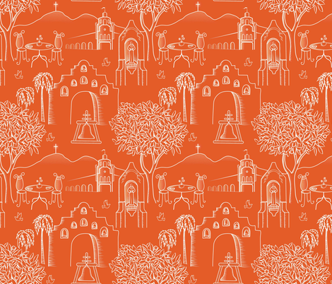 Riverside ~ Arts and Innovation fabric by vo_aka_virginiao on Spoonflower - custom fabric
