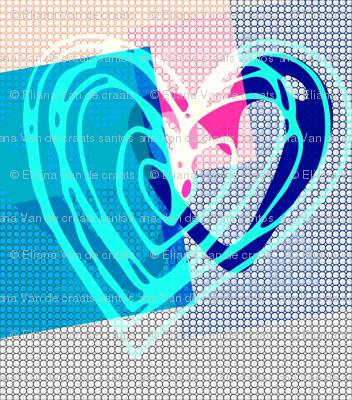 Heart Arts BLue