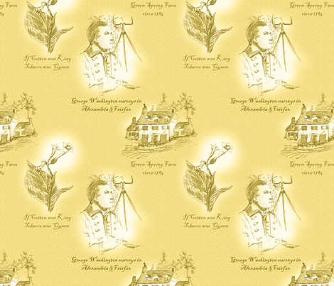 Annandale, Virginia - Dandelion Wine fabric by glimmericks on Spoonflower - custom fabric