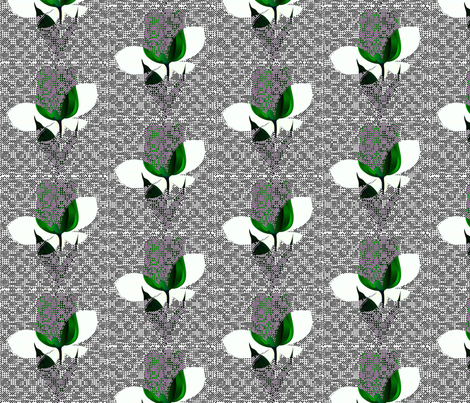 Dutch tulips fabric by _vandecraats on Spoonflower - custom fabric