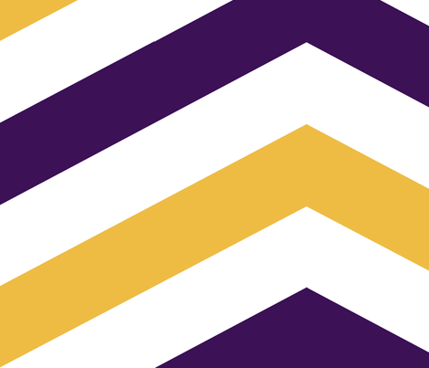 Plum and Gold Chevron fabric by mgterry on Spoonflower - custom fabric