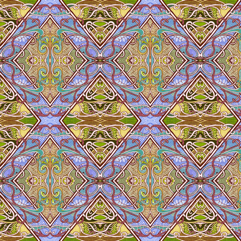 Ali Baba's Floor fabric by edsel2084 on Spoonflower - custom fabric