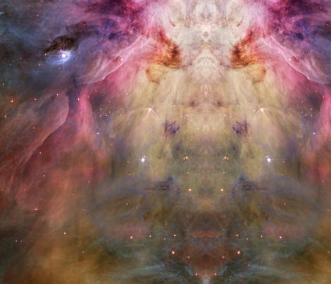 Orion_Nebula fabric by tingish on Spoonflower - custom fabric