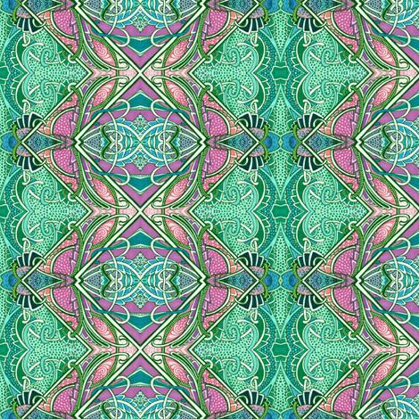 Zig Zag Fish Farm fabric by edsel2084 on Spoonflower - custom fabric