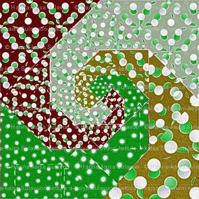 snails_trail_quilt_bright_retro_colors