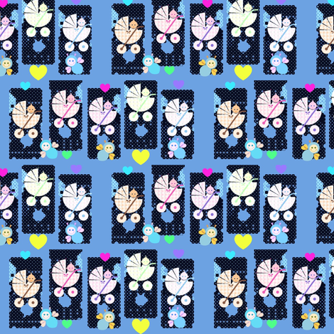 Baby_boom fabric by _vandecraats on Spoonflower - custom fabric