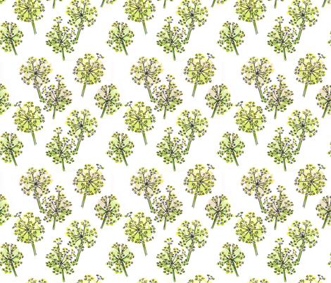 Spring Alliums fabric by georgenasenior on Spoonflower - custom fabric