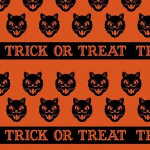 Trick or Treat ~ Cats (Orange variant ~ no.2)